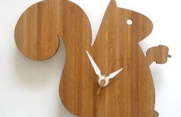 Decoylab Modern Baby Squirrel Clock