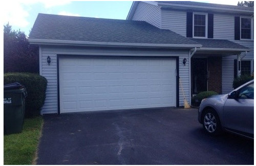 Garage Trim Reminds Me Of Black Thick Rimmed Gl Whenever I Look At It My Question Is Should Paint White Or What Color Leave As Thanks