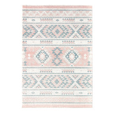 Desert Series Moroccan Tribal Soft Touch Area Rug By Rugs America, 5'x7'