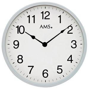 Sam Quartz Wall Clock, Grey