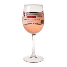 LASTING IMPRESSIONS - Prescription Wine Glass - Wine Glasses