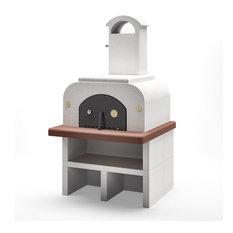 Piralla - Palazzetti Forno Wood Fired Oven Easy Medium Completo - Outdoor Pizza Ovens