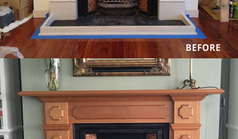 Fireplace Natural Wood Look