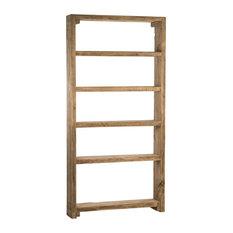 Mediterranean Medium Wooden Bookcase