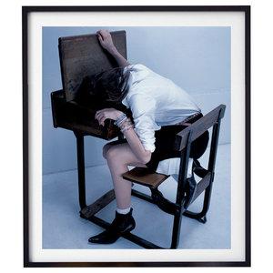 """Bad Girl 001"" Fashion Photography Print, Framed, 58x71 cm"