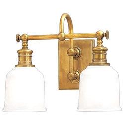 Simple Traditional Bathroom Vanity Lighting by Mylightingsource