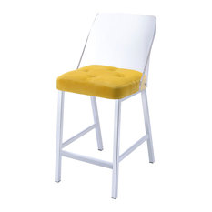 50 Most Popular Yellow High Back Counter Height Stools For