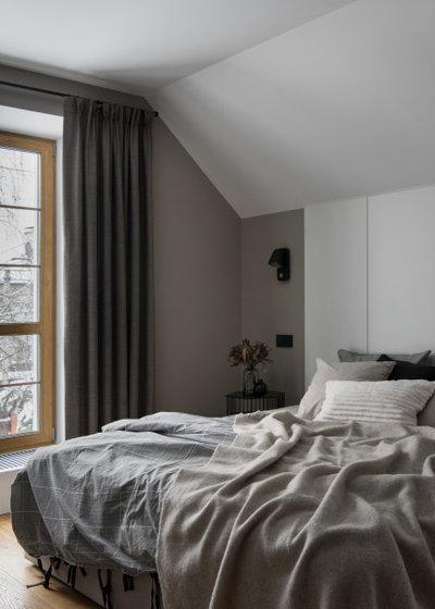 Современный Спальня by BW buro