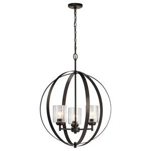 44035Oz Winslow Olde Bronze Chandelier 8-Light
