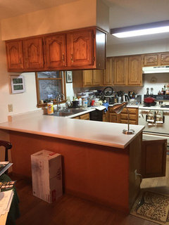 Should I paint my maple cabinets white?