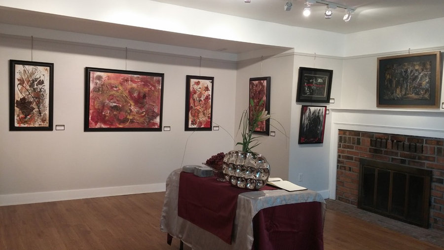 justBe Artworks Solo Exhibition at Mill Pond Gallery, Sep 2015