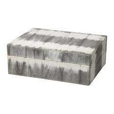 Tie Dye Box, Gray