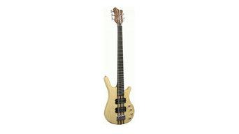 Kona Guitars KWB5A 5 String Ash Wood Electric Bass Guitar