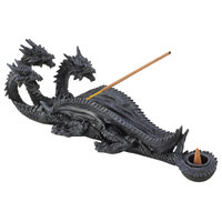 Triple-Head Dragon Incense Burner