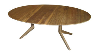 Oval Dining Table by Austin Joinery Custom Furniture of Austin, TX