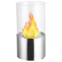 Ignis  Circum Stainless Steel Tabletop Ventless Ethanol Fireplace