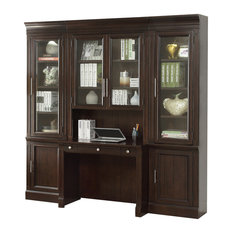 parker house stanford small wall desk unit 4piece set desks and