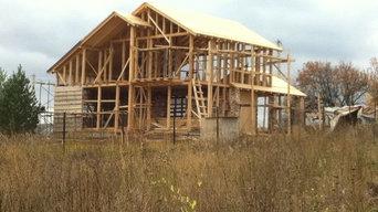 Каркасный дом, 160 кВ.метров