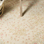 Unique Loom - Unique Loom Edinburgh Adel Area Rug, Cream, 5'x8' - The classic look of the Edinburgh Collection is sure to lend a dignified atmosphere to your home. With an array of colors and patterns to choose from, there�s a rug to suit almost any taste in this collection. This Edinburgh rug will tie your home�s decor together with class and amazing style.