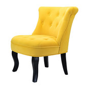 Jane Accent Chair, Yellow