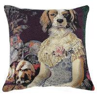 Poncelet Dame Decorative Pillow Cushion Cover, A - H 16 x W 16