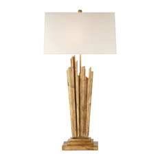 E. F. Chapman Claymore Large Table Lamp Gilded Iron