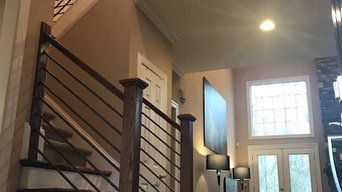 Transitional Staircase Railing