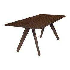 Slab Table, Brown
