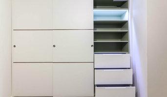 Three Sliding Doors Wardrobe@Oxfordshire