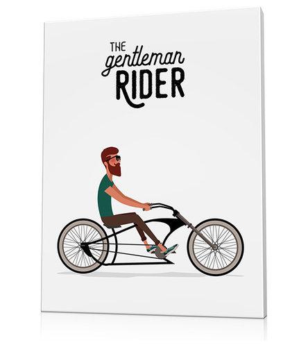 Poster vélo chopper - Imprimé et Poster