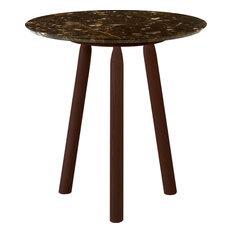 Ninna Emperador Marble Coffee Table, Wenge