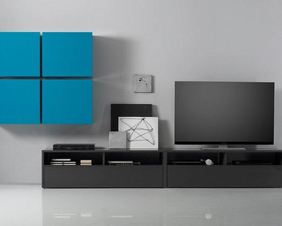 modern wall units