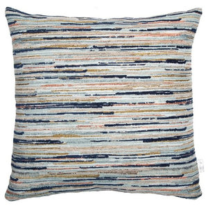A.U. Maison Strokes Cushion Cover, Midnight Blue, 30x50 cm
