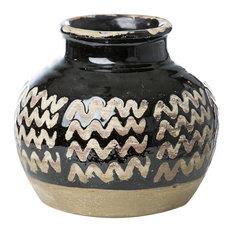 Vase Moroccan-Style Zig Zag
