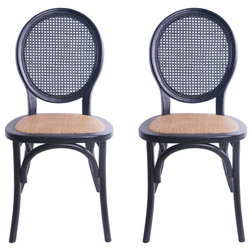Tropical Dining Chairs by GDFStudio