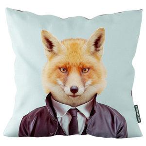 Evermade Zoo Portrait Cushion, Fox