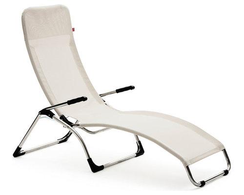 Samba Solstol, Vit - Udendørs lounge stole