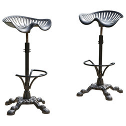 Industrial Outdoor Bar Stools And Counter Stools by GDFStudio