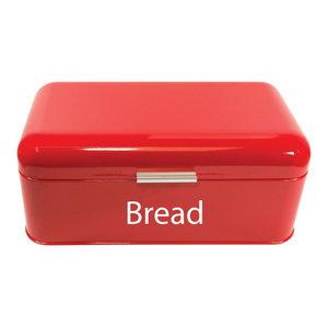 Chef Vida Curved Bread Bin, Red