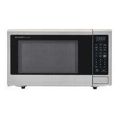 Carousel 2.2 Cu. Ft. 1200W Countertop Microwave Oven, Stainless Steel