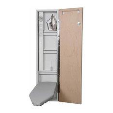 Premium Electric Ironing Center, Mirror Door