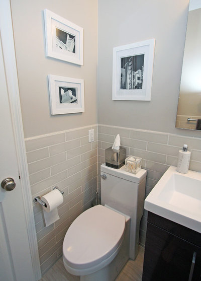 Beautiful A Compact Bathroom Recovers From Water Damage