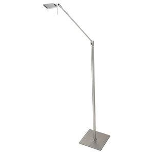 Masnou LED Floor Lamp, Chrome