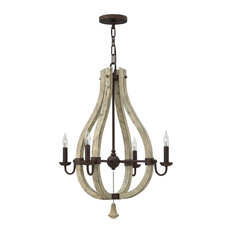 Hinkley Middlefield Chandelier Small Open Frame Single Tier