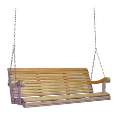 Grandpa Cypress Porch Swing, Large