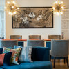 Bright Idea: The Sputnik Chandelier Lights up a Variety of Spaces