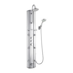 SHCM-23580 Hydrotherapy Shower Panel With Shower Accessory Holder