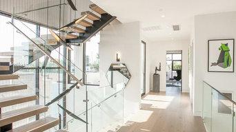 staircase glass railings