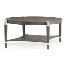 Duvall Oval Cocktail Table