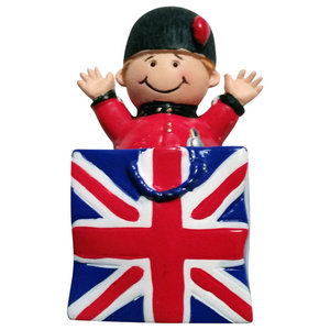 Smiling Royal Guard Fridge Magnet